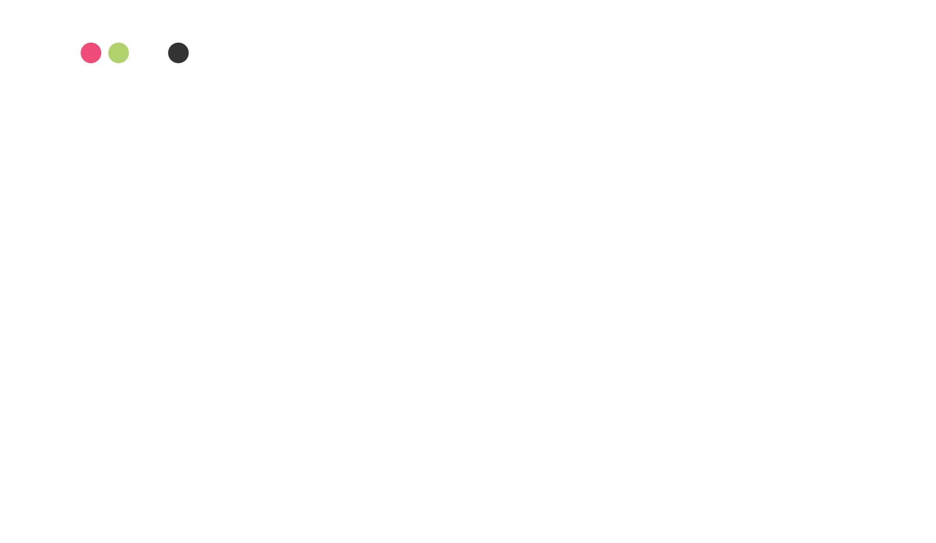 The Colour Pallet and font choices for the EcoSystem Brand